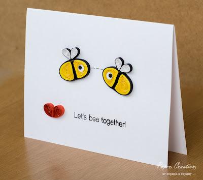 квиллинг пчелки