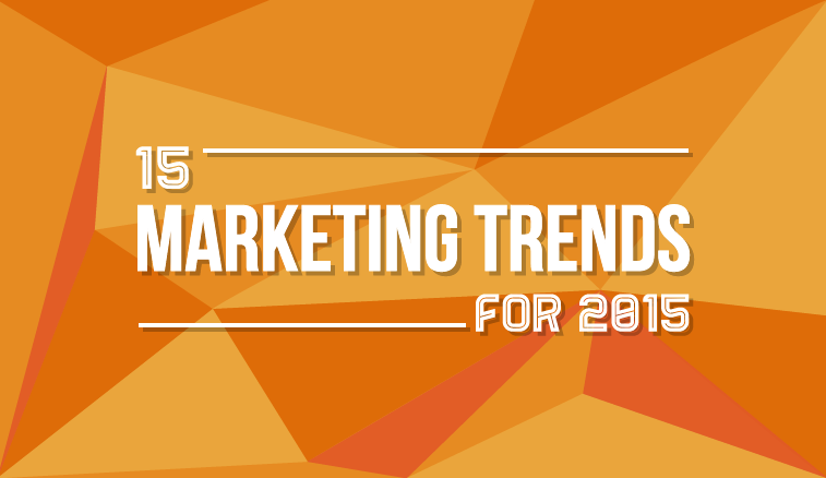 Top 15 Digital #Marketing Trends for 2015 - #infographic
