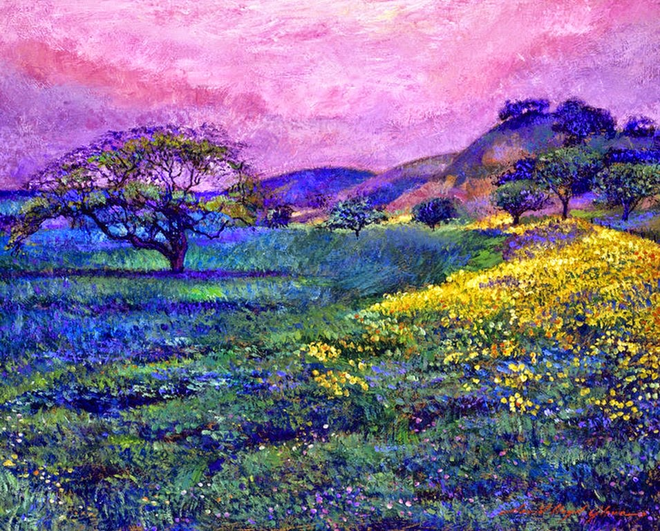 Im genes arte pinturas paisajes rurales modernos - Ver cuadros modernos ...