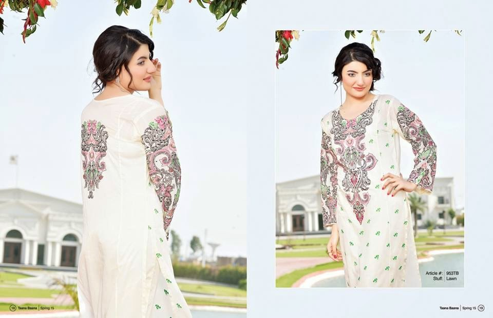 Taana Baana Bahar-e-15 Summer Lawn Collection for Girls
