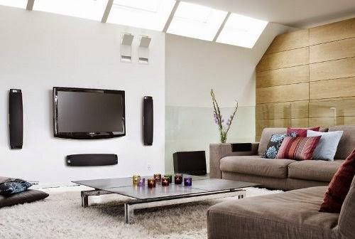 minimalist living room interior design with modern furniture