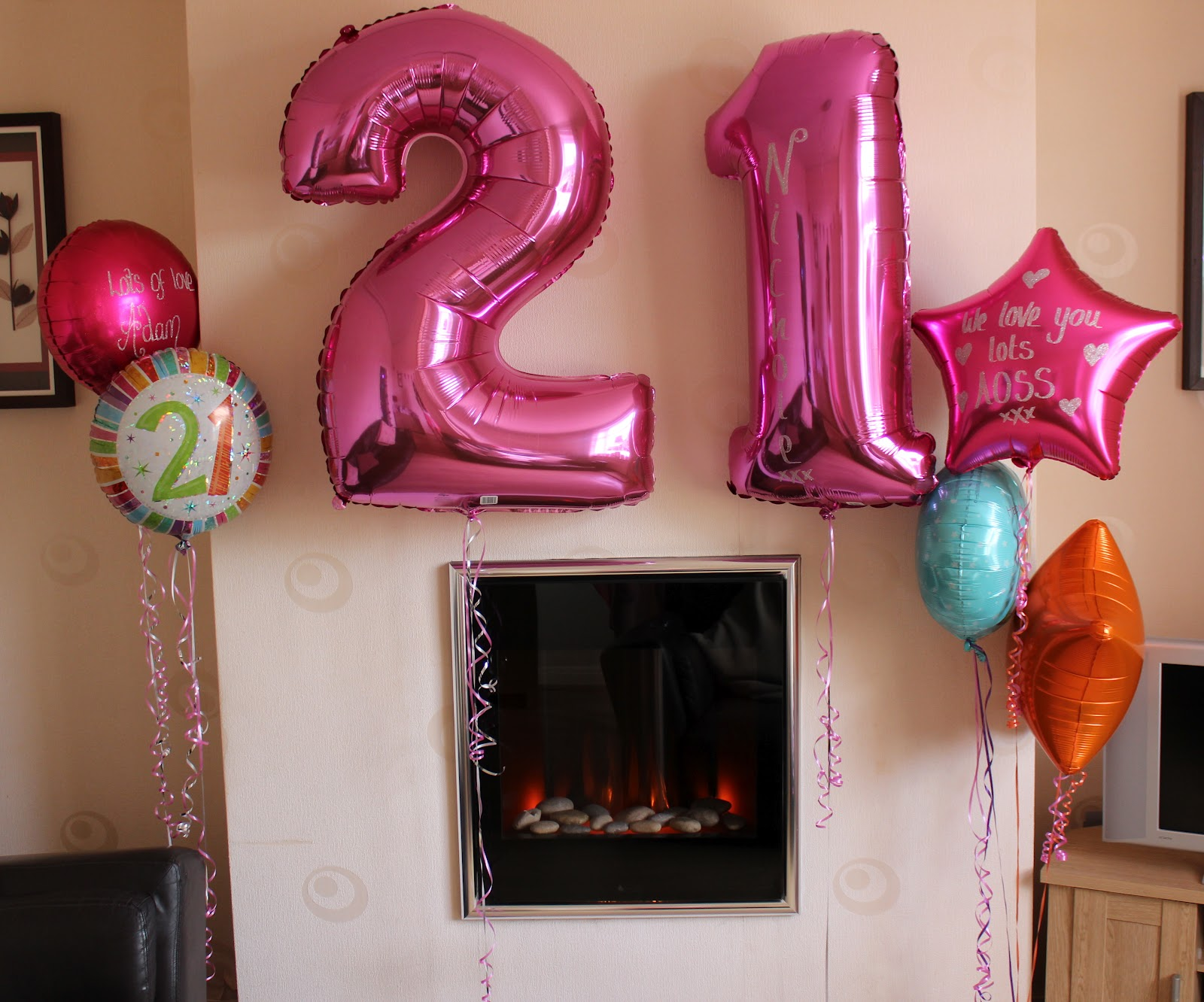 Coleyyyful a beauty fashion blog my 21st birthday for 21st party decoration