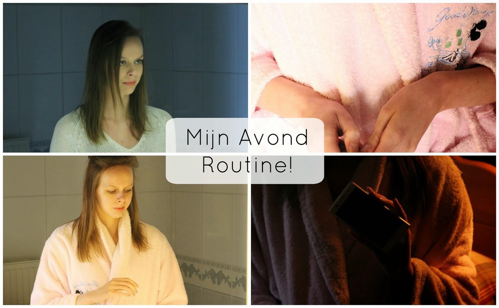 avond routine beautyblog