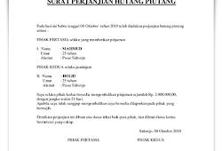Contoh Surat Pernyataan Kehilangan Yang Benar Kumpulan Contoh Surat