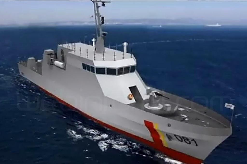 patrullero de costa cpv-46 armada colombia cotecmar