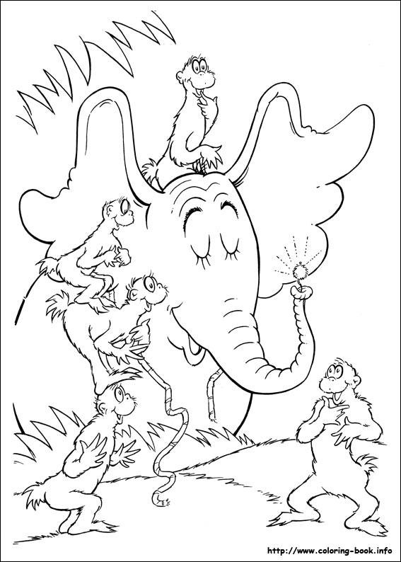 Leap Let S Colour Horton Hears A Who Coloring Pages
