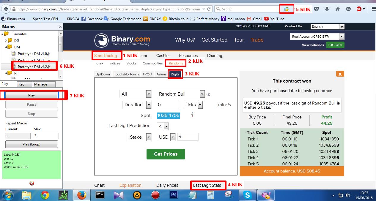 trik digit match binary options