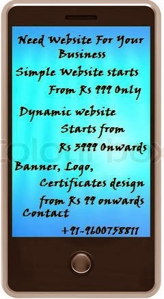 Website from Rs 999