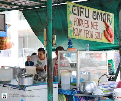 Cifu Omar hokkien mee and Koay Teow Soup @ Tanjung Tokong, Penang.