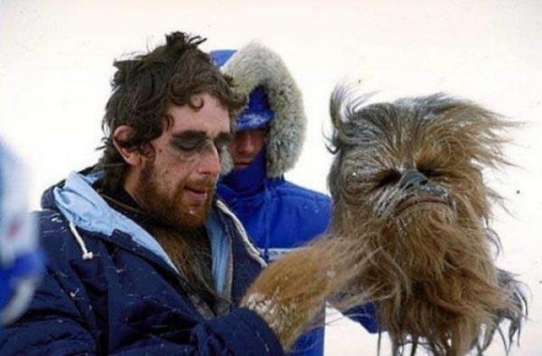 bastidores de Star Wars