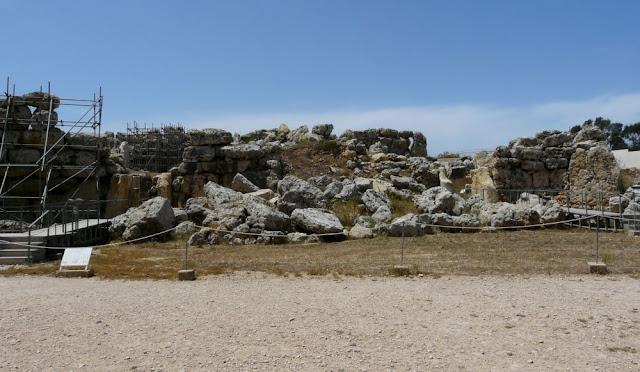 Kompleks świątyń Ggantija Temples na Gozo
