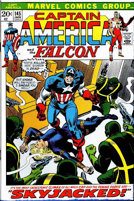Captain America #145, Hydra, Sharon Carter death dies