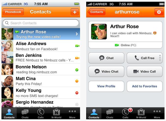 Download Nimbuzz Messenger Free Latest Version for Windows