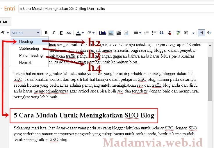 5 Cara Mudah Meningkatkan SEO Blog Dan Traffic