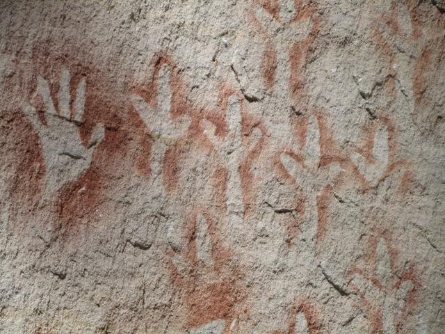 Aboriginal rock art at Carnarvon Gorge