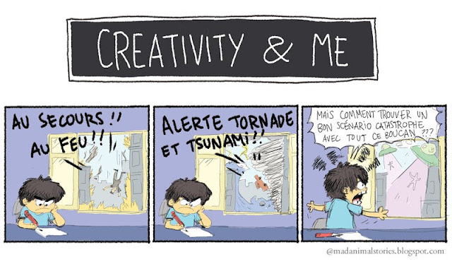 Creativity and Me - Scénario catasrophe