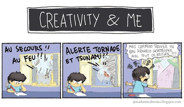Creativity and Me - Scénario catasrophe