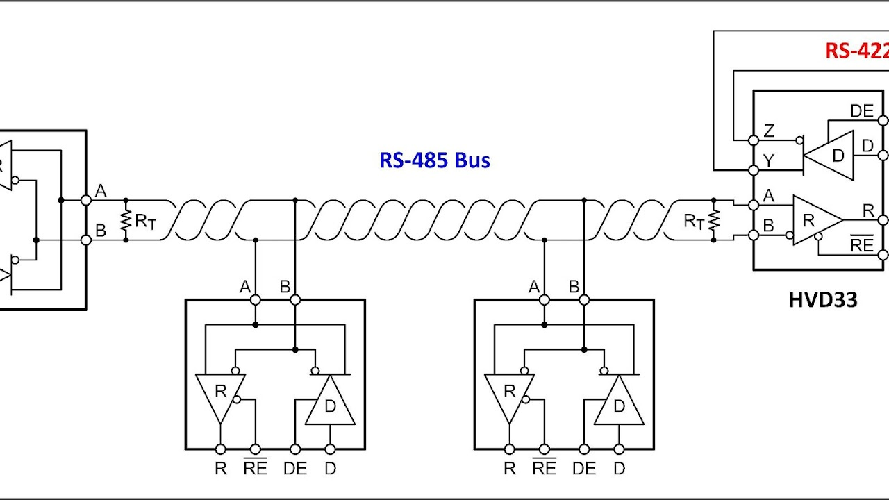 RS-485 - Rs 485 Connection