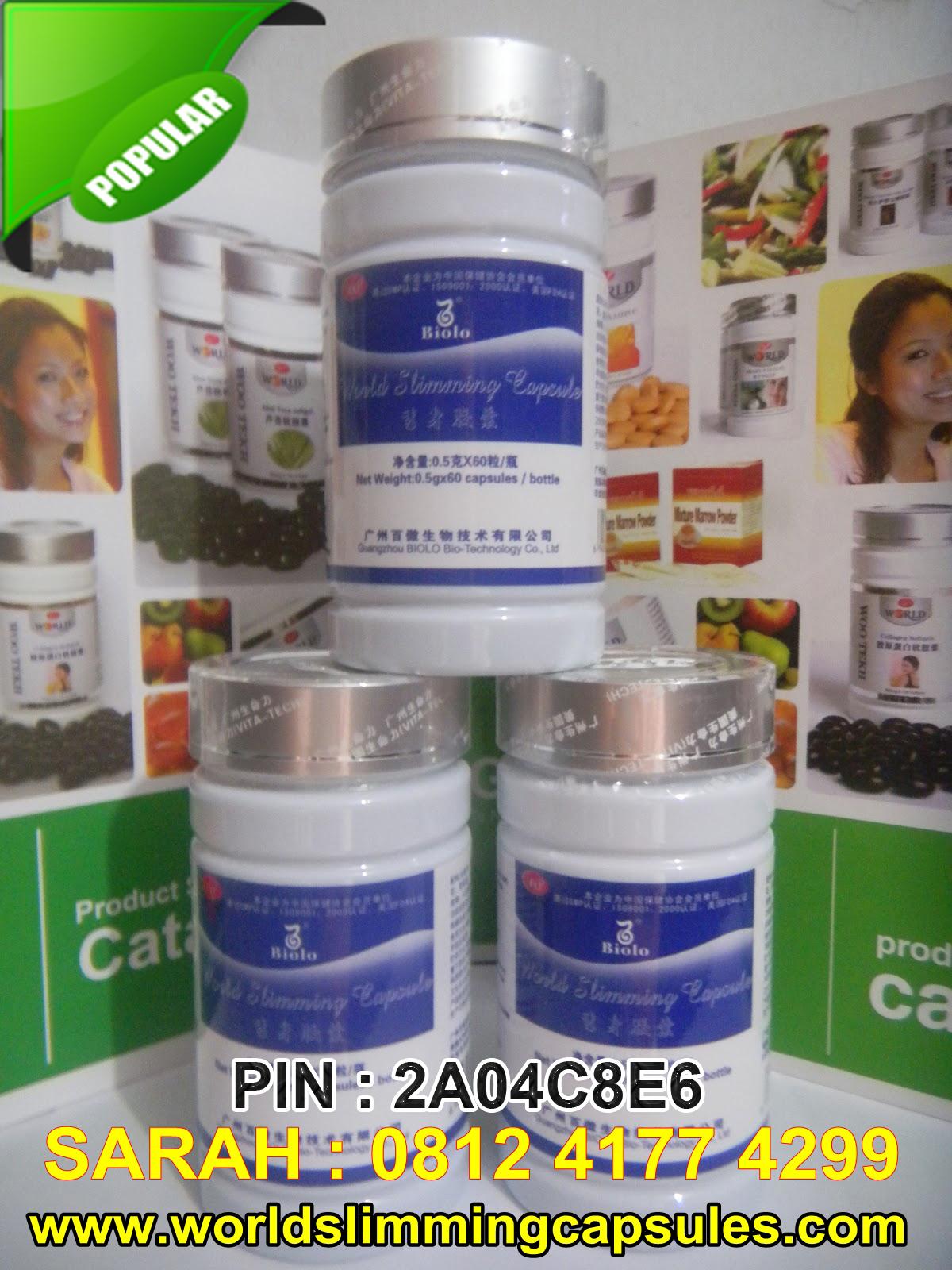 Obat Pelangsing Slimming Capsule