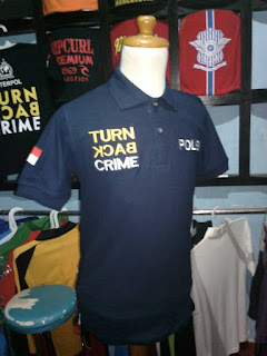 kaos polo,kaos kerah,kaos turn back crime
