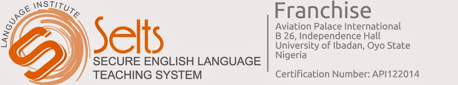 Join Our Secure English Language Teaching System | SELTS