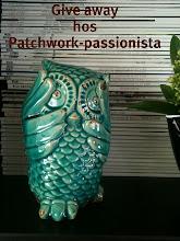 Herlig ugle fra Patchwork-passionista