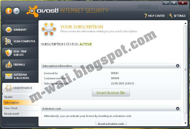 download kode aktivasi avast internet security