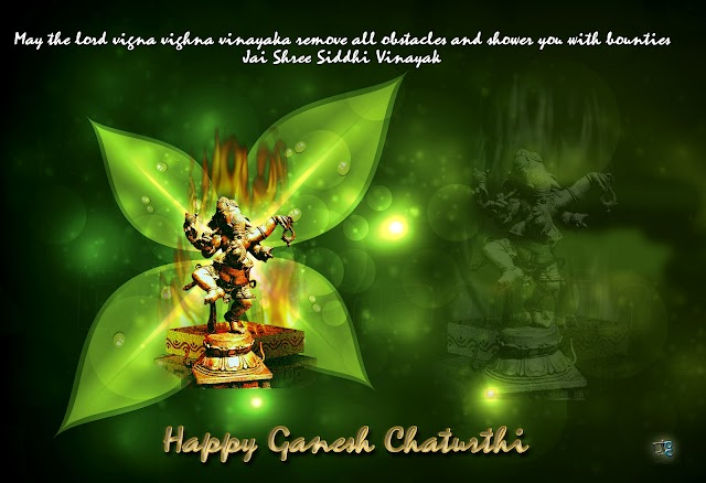 May the lord vighna Vinayaka Remove all Obstacles and shower you with bounties jai shree siddhi vinayak