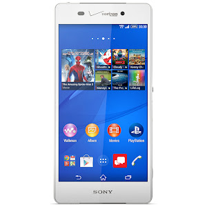Sony Xperia Z3v (front)