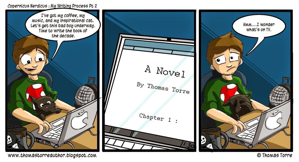 my writing process