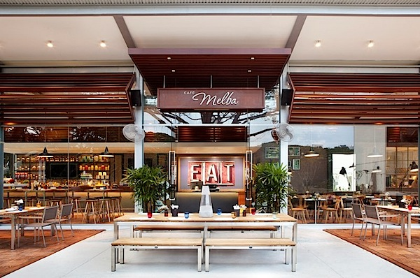 Designphase Dba Have Designed The Cafe Melba In Singapore