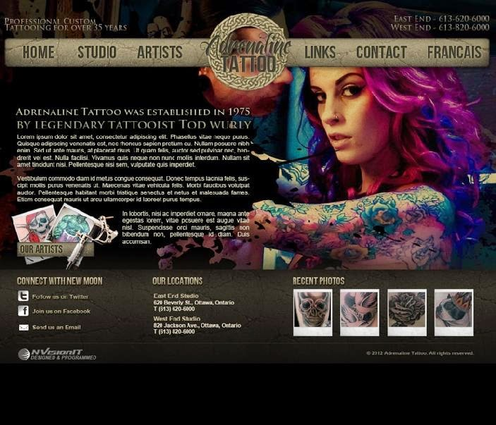 tattoo website tattoo designs