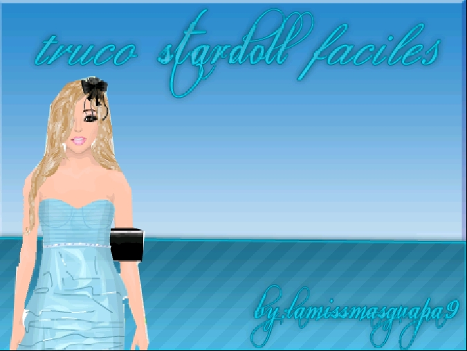 Trucos Stardoll Faciles