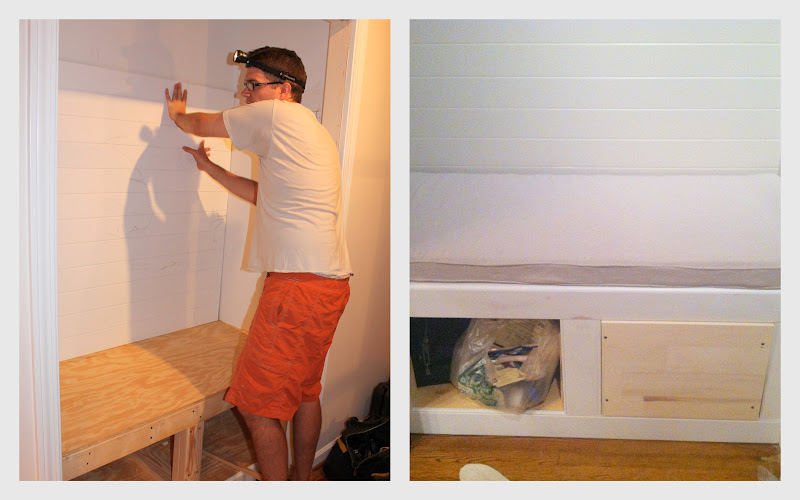 Woven Home Entry Closet Makeover Part 3 Building The Bench