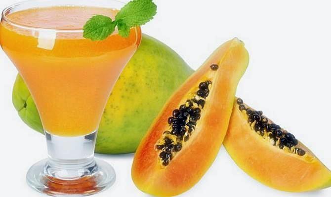 Papaya Fruit Treat Breast Beautiful Asian Woman