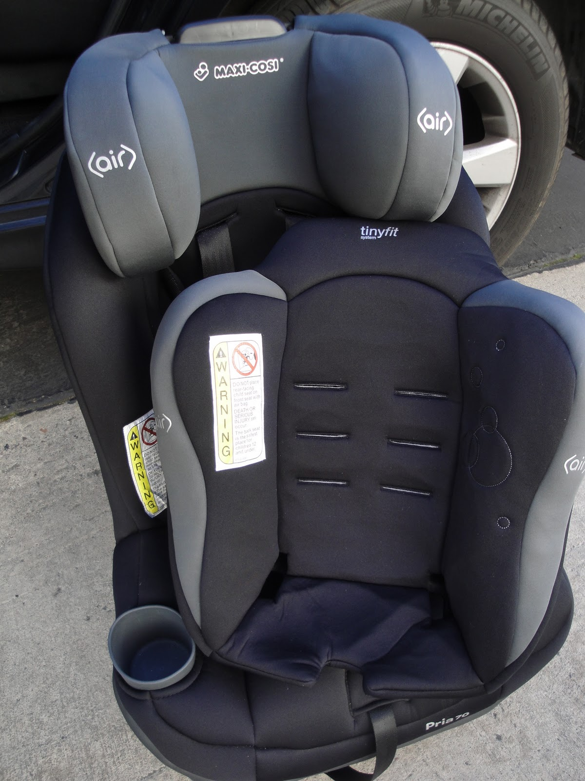 Removable TinyFitTM System For Infants