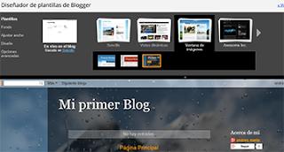 cambiar plantilla blogger