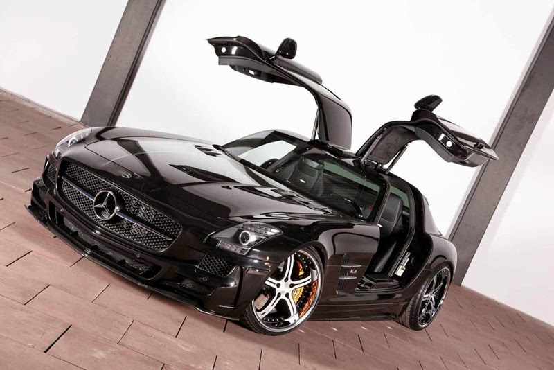 Modifikasi Mercedes-Benz SLS AMG
