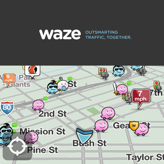 Waze social GPS traffic