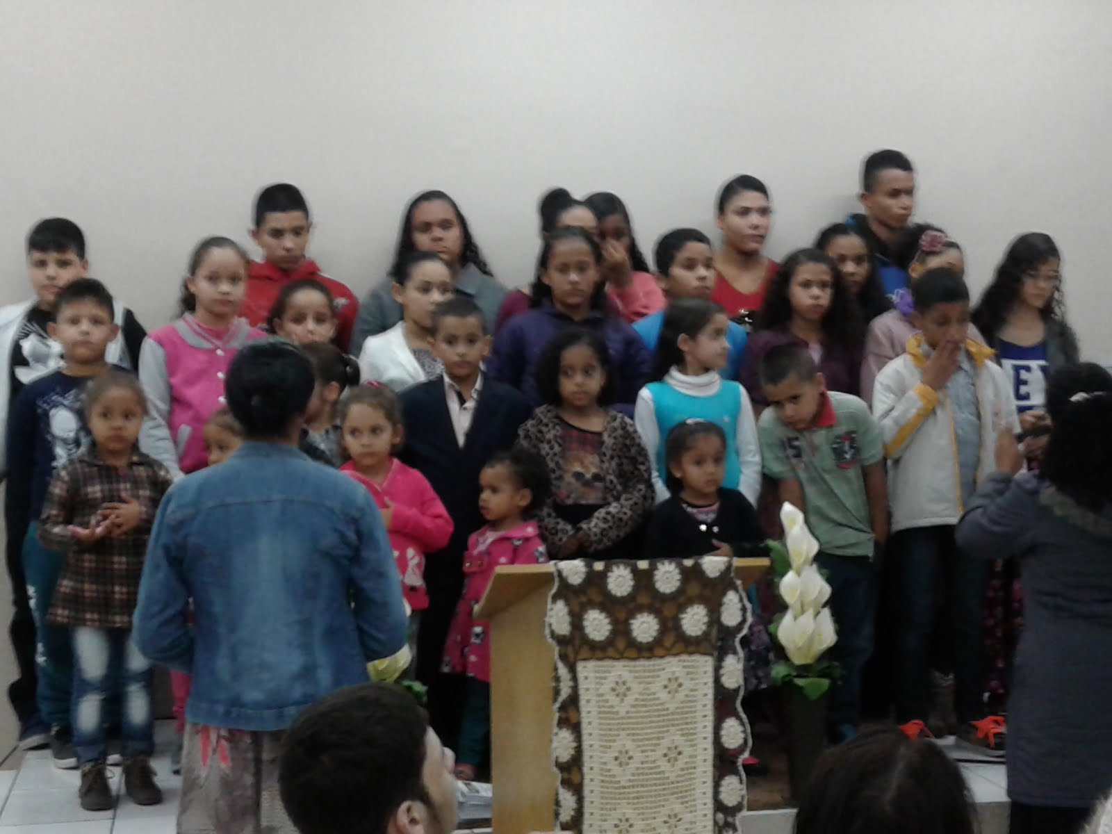 Liderança Jovem da Igreja Esta Obra é do Senhor de Guaianazes