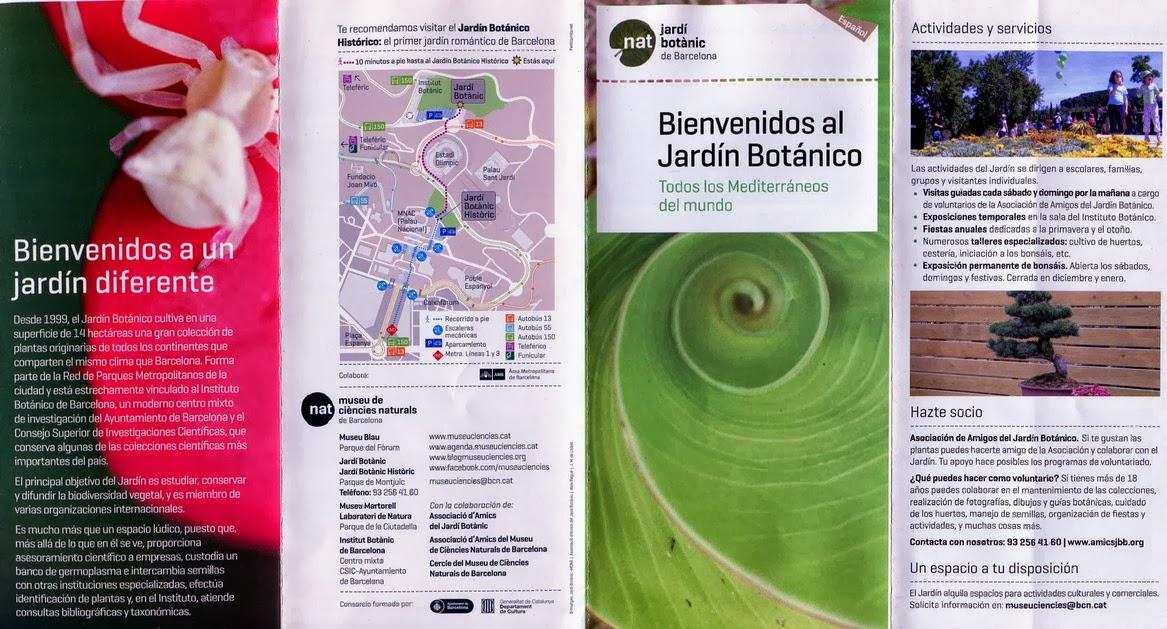 Sindbad el funcionario septiembre 2013 for Precio de entrada al jardin botanico