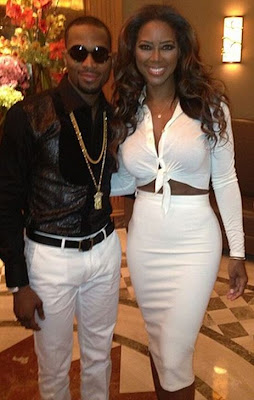 Real Housewives of Atlanta star, Kenya Moore to host D'banj's b'day