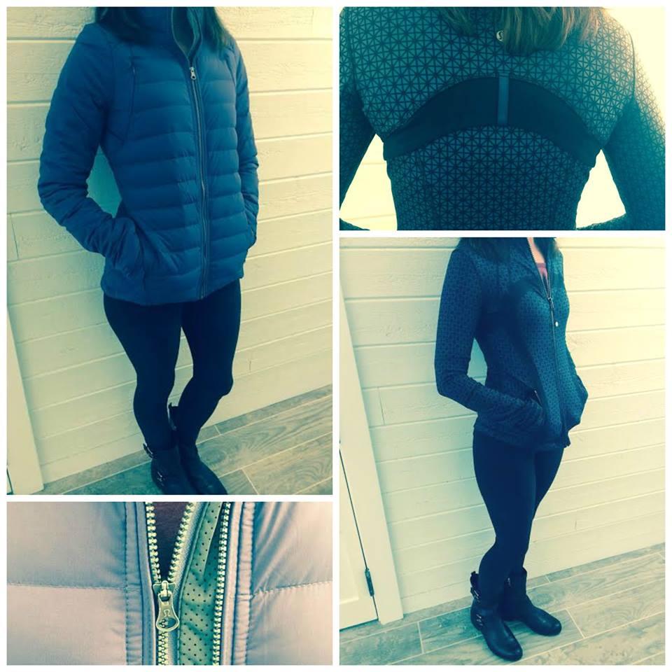 lululemon tri geo print define jacket