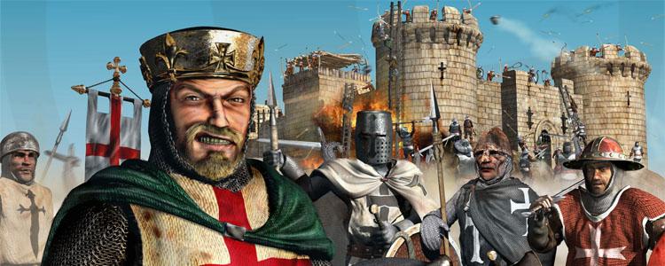 Cara Mudah Bermain Stronghold Crusader Secara Online