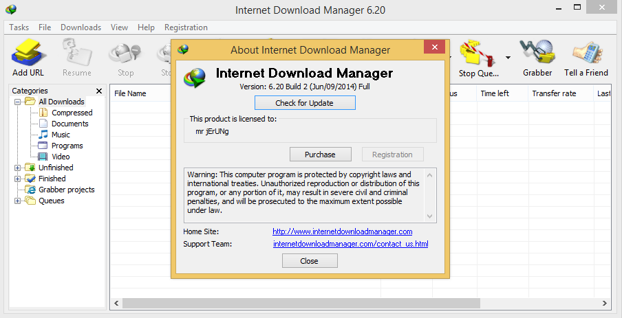 Internet download manager idm 6.20 build 7