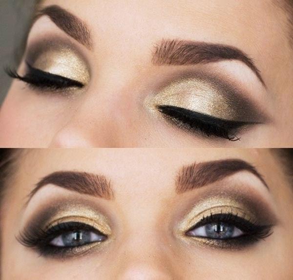 Cách trang điểm mắt sưng