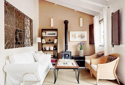 Cocinas y salones con estilo rustico moderno - Estilo rustico moderno ...