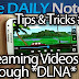 Galaxy Note 2 Tips & Tricks (Episode 30: Stream Files From PC To Galaxy Note 2 At Home, DLNA)