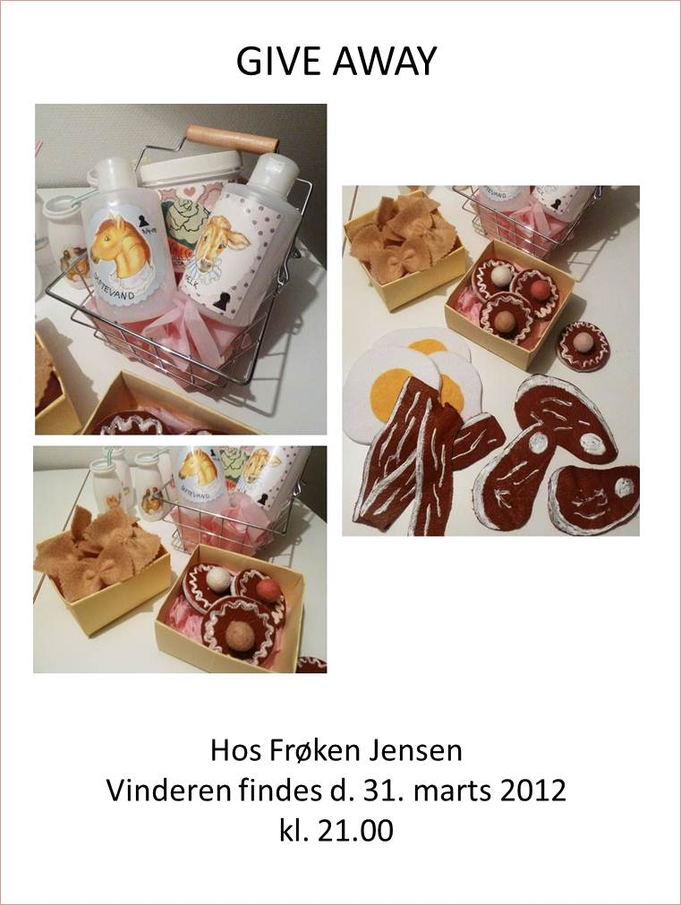 Give Away Frøken Jensen