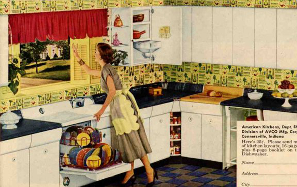 Funky junk jennifer homebound for 50 s style kitchen designs